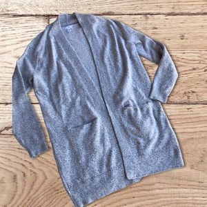 2/$20 BP large grey cardigan with pockets
